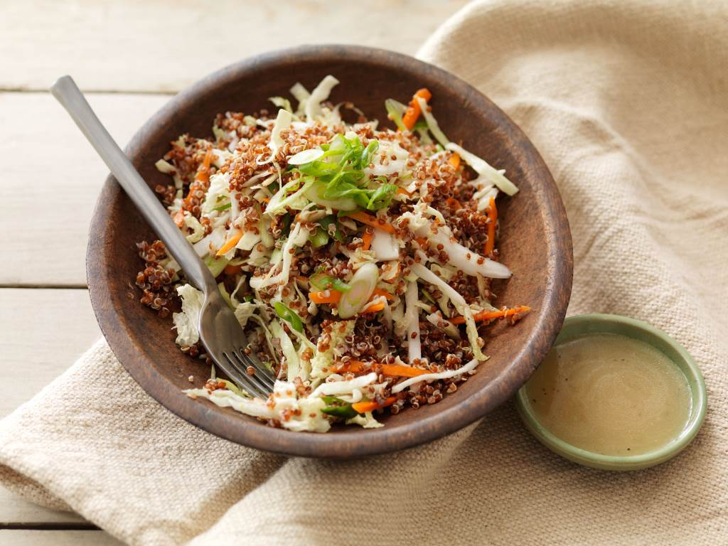 Asian quinoa salad