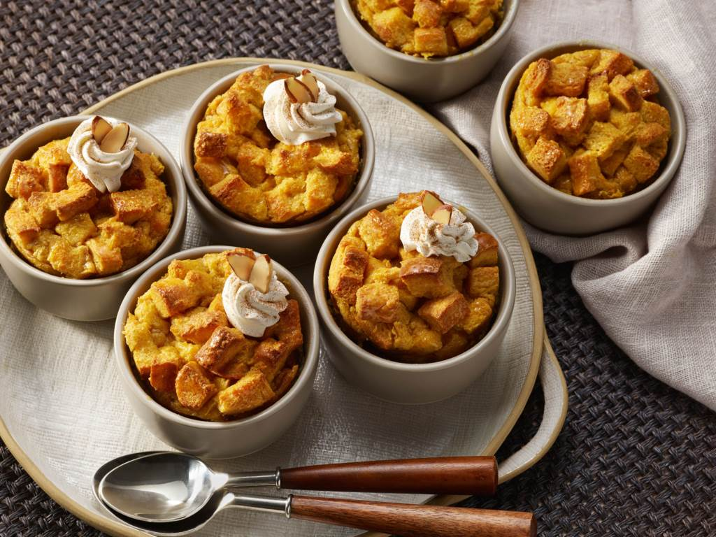 autumn squash bread pudding
