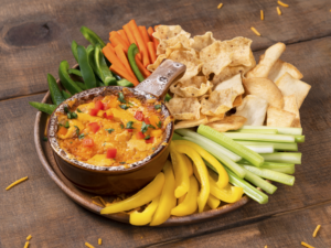 chicken tortilla dip