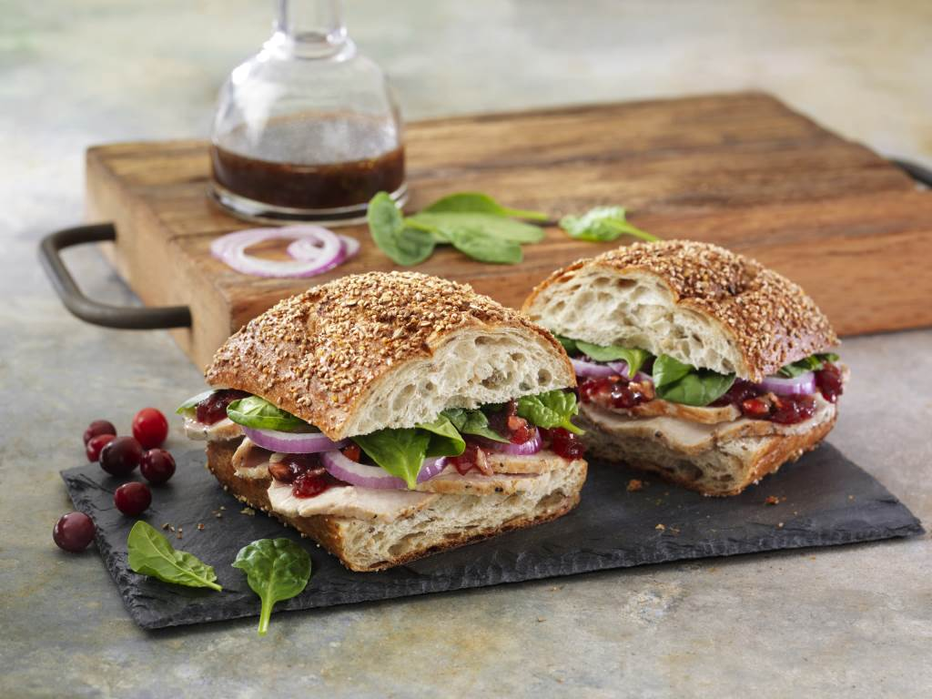 Balsamic Cranberry Turkey Sandwich Meal Idea Panera At Home