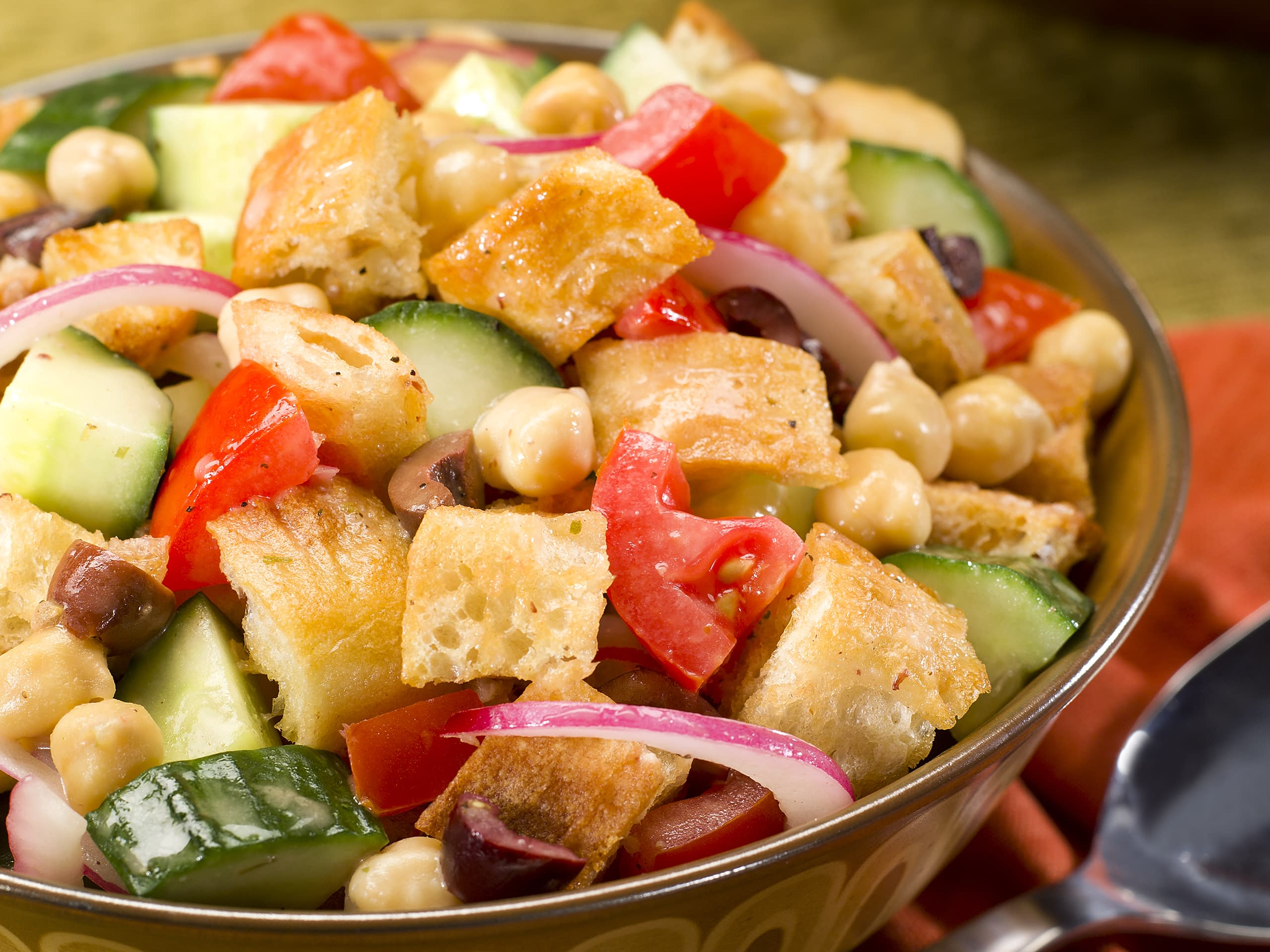 Greek Panzanella greek panzanella meal idea | panera at home