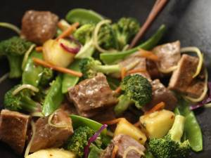 Thai Pork and Pineapple Stir Fry