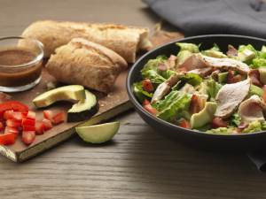 Turkey Avocado BLT Salad