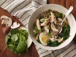 Turkey Lentil Broth Bowl