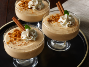 Autumn Squash White Chocolate Mousse