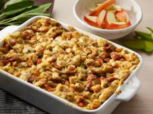 turkey sausage and apple stuffing