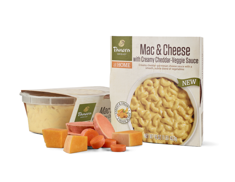 Mac & Cheese with Creamy Cheddar-Veggie Sauce