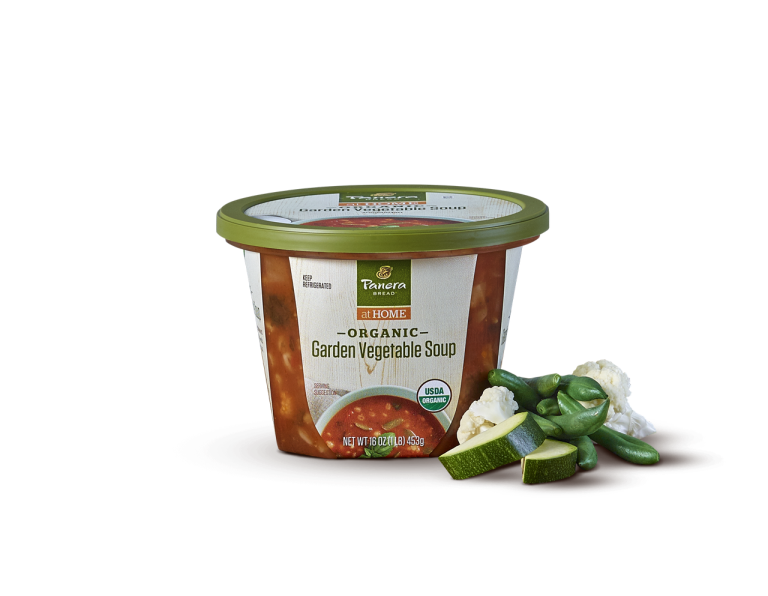 Organic Garden Vegetable Soup